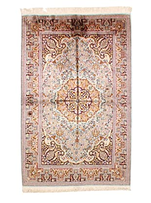 Roubini Srinagar Silk Fine Rug, Multi, 6' 2
