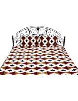 Exotic India Block-Printed Bedspread from From Pilkhuwa - Pure Cotton