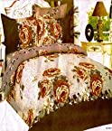 Designer Double Bed Sheet With 2 Pillow Covers