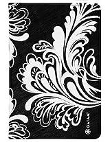 Gaiam Pose Folio Case for iPad Mini - Black and White Watercress (31051)