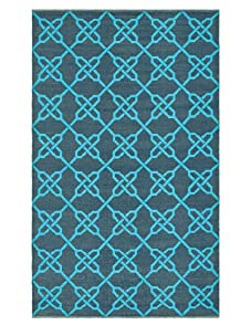 Thom Filicia Tioga Indoor/Outdoor Rug (Spray/Blue)