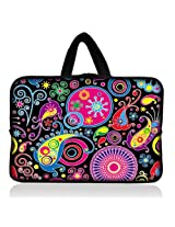 "Colorful Paisley 6"" 7"" 7.85"" inch tablet Case Sleeve Carrying Bag Cover with handle for Apple iPad mini/Samsung GALAXY Tab P3100 P6200/Kindle Paperwhite/Kindle Touch/Kindle fire/Kindle fire HD 7 inch/Acer Iconia A100/Google Nexus 7/Noble NOOK Color"