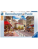 Ravensburger Quaint Shops Jigsaw Puzzle (500 Pieces)