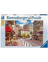 Ravensburger Quaint Shops Jigsaw Puzzle (500 Pieces)