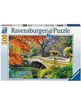 Romantic Bridge Jigsaw Puzzle, 500-Piece
