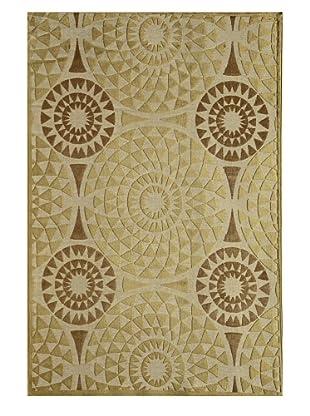 Rugs America Salerno Chenille Mosaic (Mosaic Ivory)