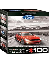 Euro Graphics Ford Mustang 2015 Mini Puzzle (100 Piece)