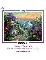 Thomas Kinkade - Village Lighthouse Puzzle - 1000 Piece