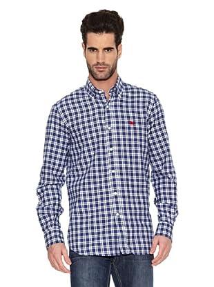 Toro Camisa Casual (Azul)
