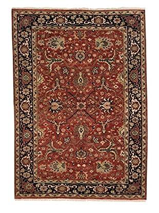 eCarpet Gallery One-of-a-Kind Hand-Knotted Serapi Heritage Rug, Orange, 6' 2