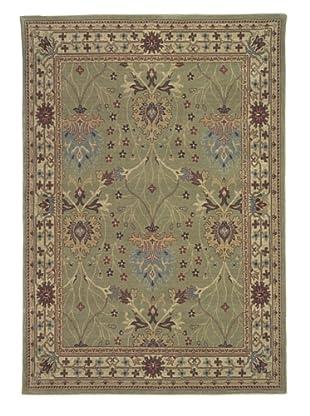 Kabir Handwoven Rugs Wonders Select Rug, Green Multi, 5' 3