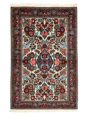 Darya Rugs Persian One-of-a-Kind Rug, Ivory/Red, 3' 7