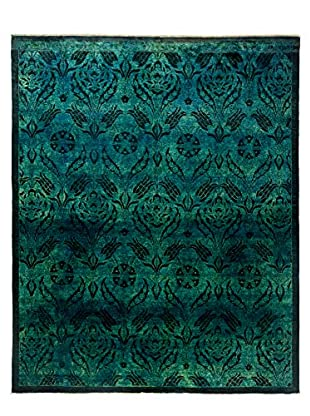 Darya Rugs Ziegler One of a Kind Rug, Teal, 8' x 10'