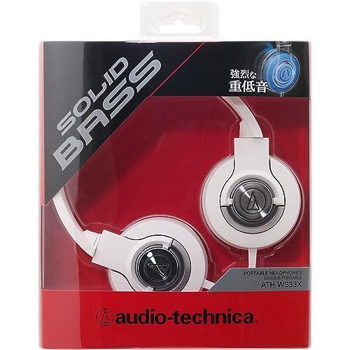 audio-technica SOLID BASS ATH-WS33X WHITEの写真02。おしゃれなヘッドホンをおすすめ-HEADMAN(ヘッドマン)-