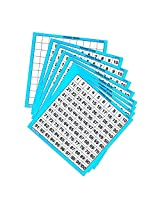 Learning Resources Laminated Hundreds Cards 10/Pk (Set Of 12)