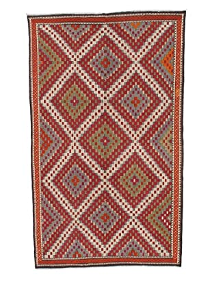 Rug Republic One Of A Kind Turkish Tribal Hand Woven Flat Weave Rug, Multi, 6' 6