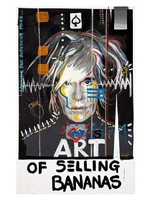 "Giorgio Casu-Andy Warhol, 19"" x 30"""