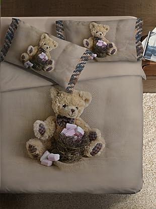 Ipersan Bettbezug Piazzato Fine Art Funny Bear