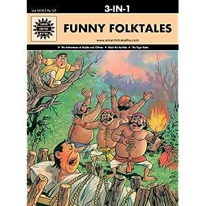 Funny Folktales: 3 in 1 (Amar Chitra Katha)