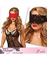 Seven Til Midnight Women's Eyelash Mask, Black, One Size