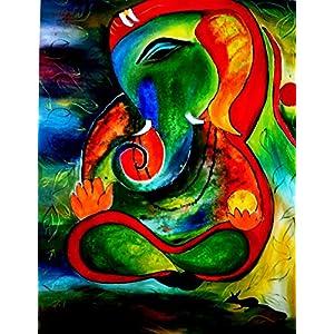 NUCreations Vibrations - Original Painting - Oil Paint On Canvas