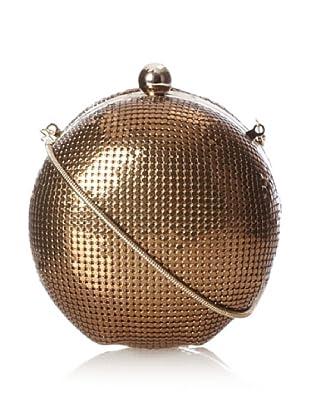 Whiting & Davis Women's Mesh Globe Convertible Clutch, Penny