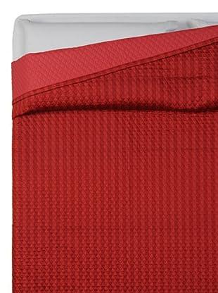 HomeTrends Copriletto Litchi (Rojo)
