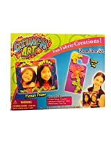 Little Kids Crunch Art Picture Frame and Door Tag Set