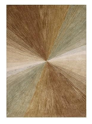 Horizon Light Beam Rug (Brown Multi)