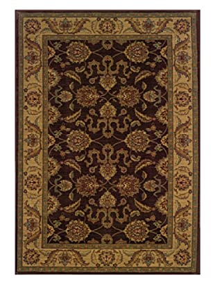 Granville Rugs Tuscany Rug (Brown/Beige/Blue/Gold)