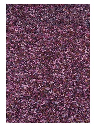 Loloi Rugs Hugo Recycled Sweater Wool Rug (Violet)