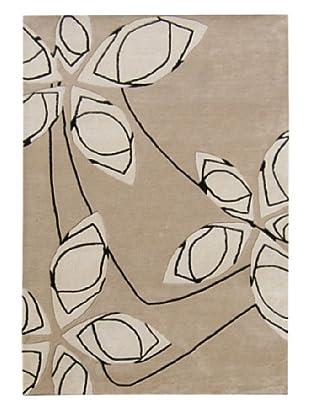 Horizon Beverly Hills Abstract Sketch Rug (Camel/Black)