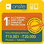 Onsite Accidental Damage and Liquid Damage Protection for Tablets (Rs. 15001 to < 20000) Delivery by email
