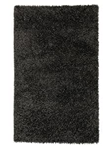 Jaipur Rugs Tribeca Woven Shag Rug (Liquorice)