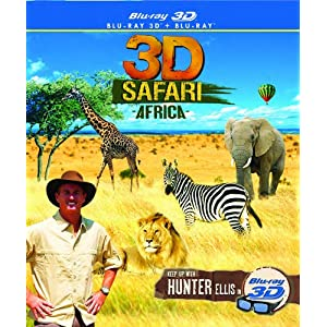 3D Safari Africa - Blu-ray