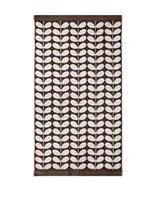 Orla Kiely Stem Jacquard Bath Sheet, Nutmeg
