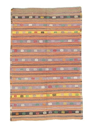 Rug Republic One Of A Kind Turkish Tribal Hand Woven Flat Weave Rug, Multi, 5' 9