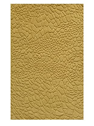 Momeni Gramercy Collection Rug, Gold, 5' x 8'