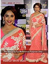 Indian Ethnic Designer Bollywood Party Wear Sarees Sari Traditional Women Wedding Madhuri dixit pink saree