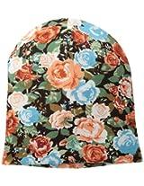 D&Y Women's Floral Print Beanie