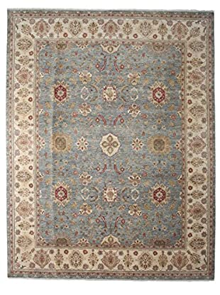 Darya Rugs Oushak Oriental Rug, Light Blue, 9' 3