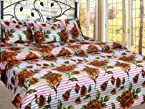 100% Cotton Double Bedsheet with 2 pillow covers - bedsheets/ bed sheet