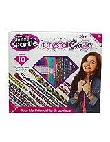 Cra Z Art Crystal Craze Sparkling Friendship Bracelets Set