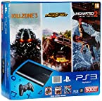 Sony PS3 500GB SuperSlim Console (Free Games: Motorstorm Pacific, Uncharted 2 and Killzone 3)