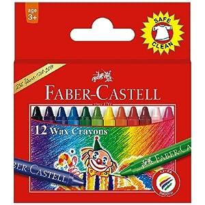 Faber Castell Wax Crayon Reg. 57Mm (Pack of 12)
