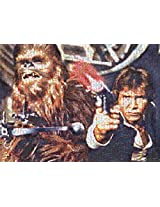 Buffalo Games Star Wars Photomosaic: Han Solo and Chewbacca Jigsaw Bigjigs Puzzle (1000 Piece)