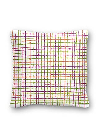 Casual Textil Cojín Network (Fucsia)