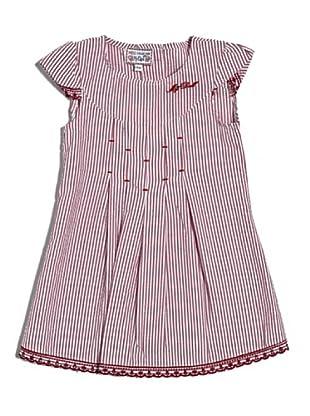 My Doll Kleid Vichy (Weiß/Rot)