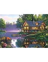 Buffalo Games Kim Norlien: Cabin Fever - 300 Piece Jigsaw Puzzle by Buffalo Games