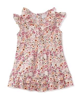 KANZ Girl's Flower Print Blouse (Multi)